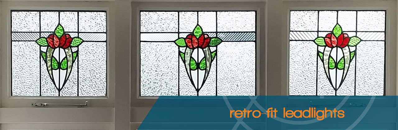 Retrofit Glass Leadlights - Absolute Glass Wellington