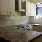 Kitchen: Custom Glass Splashback 2/2