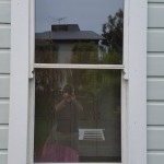 After (2): Double-hung sash window retrofitted with double glazed re-hung in window