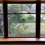 Leadlights retrofitted into new double glazed units