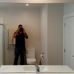 Custom Bathroom Mirror - Wellington