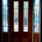 Double Glazed Leadlight Entrance