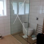 Frameless Glass Shower - Wellington